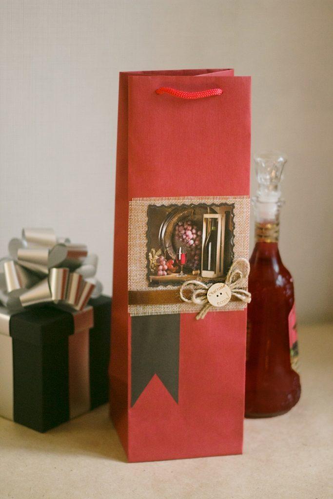 мужской пакет под бутылку